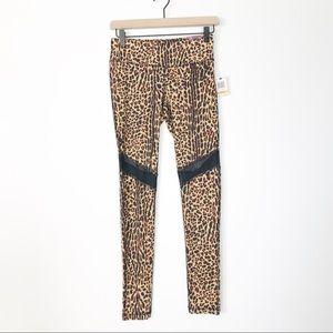 NWT Material Girl Leopard Print Leggings - S